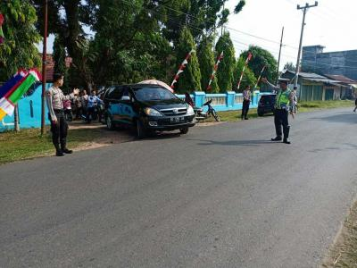 Personel Polres Musi Rawas Laksanakan Patroli