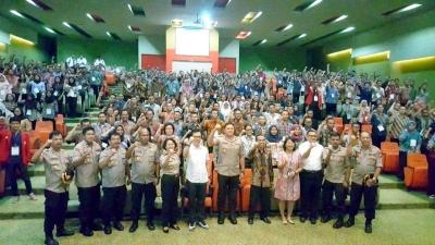 Polres Metro Jakarta Barat Gelar Seminar Anti Narkoba Bagi Mahasiswa