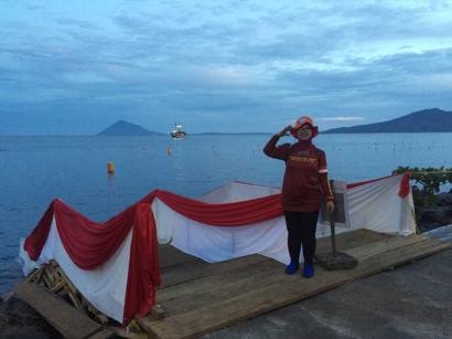 Bangga, Ikut Membentangkan 500 Meter Bendera Merah Putih di Bawah Laut