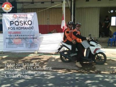 Ketika Relawan Begitu Dihargai di Lombok