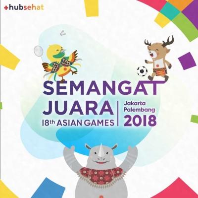 Asian Games 2018 Jakarta-Palembang