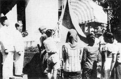 Sosok Ibu Fatmawati yang Menjahit Bendera Pusaka