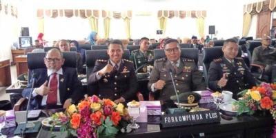 Dandim 0815 Hadiri Rapat Paripurna Istimewa di DPRD Kota Mojokerto