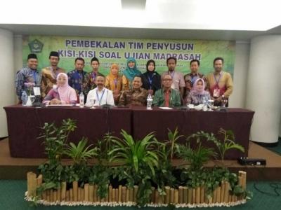 Pembekalan Tim Penyusun Kisi-kisi Soal Ujian Madrasah Tahun 2018