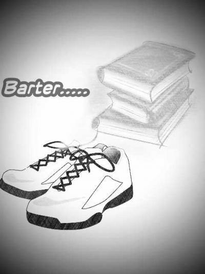 Kutukar Sepatuku dengan Bukumu