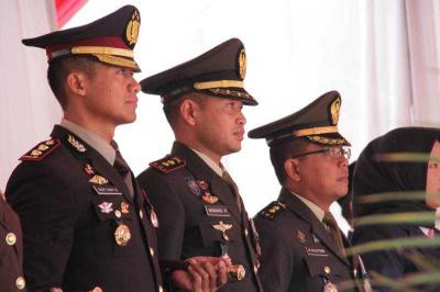 Dandim 0815 Hadiri Upacara Detik-detik Proklamasi Kemerdekaan RI