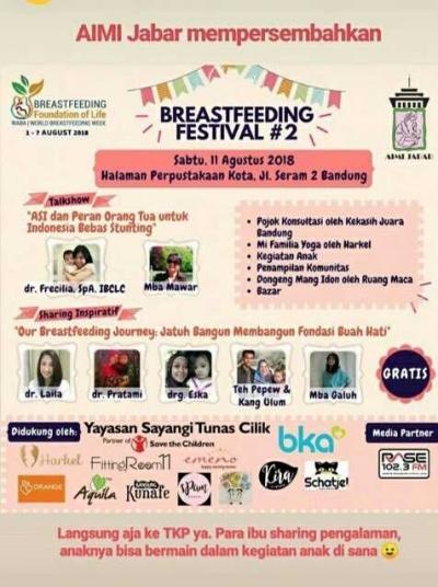 Persembahan Asosiasi Ibu Menyusui Indonesia (AIMI)  untuk Pekan Asi Sedunia