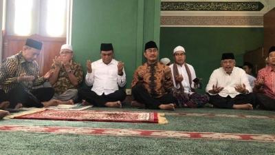 Pak Syaf Ajak Doa Bersama untuk Kesuksesan Asian Games di Masjid Agung Al Azhar