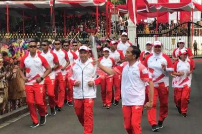 Jokowi Datang Pakai Motor Gede ke Pembukaan Asian Games 2018?