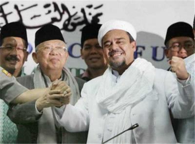 Habib Rizieq antara Benci dan Butuh