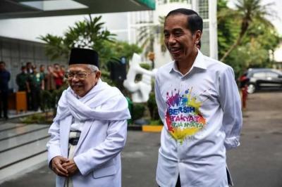 Ini Struktur Sementara Direktorat Tim Sukses Jokowi-Ma'ruf