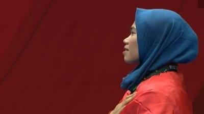 Defia Rosmaniar, Beri Emas Pertama Indonesia di Asian Games 2018