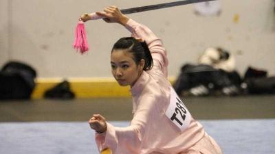 Emas Kedua Indonesia! Lindswell Kwok Sumbang Medali Emas di Wushu