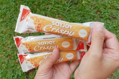 Enjoy, Diet Gizi Seimbang dengan Soyjoy Crispy
