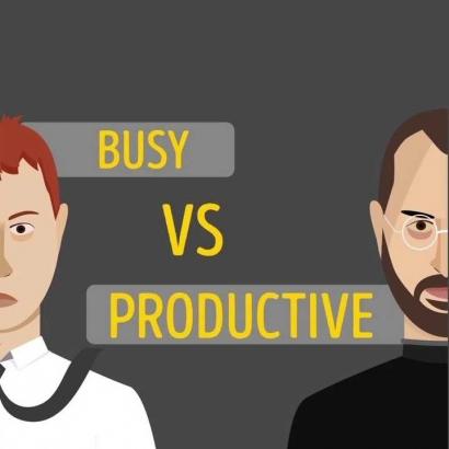 Antara Sibuk dan Produktif
