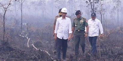 """Jokowi """"Kena Getah"""" Kasus Kebakaran Hutan dan Lahan"""