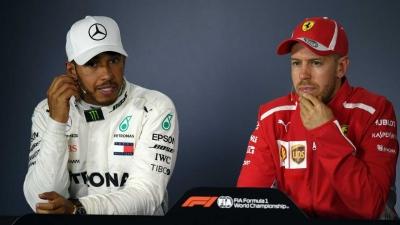 Hamilton Vs Vettel, Berpacu Menuju Lantai 5