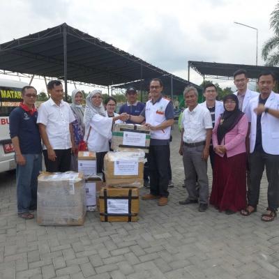 LPJK Kirim Bantuan Peduli Gempa Lombok