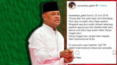 Dua Alasan Gatot Tak Layak Jadi Ketua Timses Jokowi-Ma'ruf