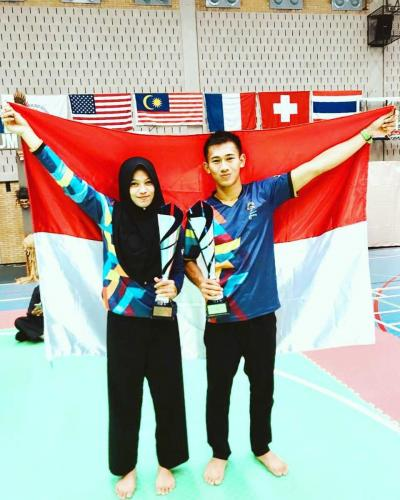Cerita tentang Pasangan Suami Istri Peraih 2 Medali Emas Asian Games 2018