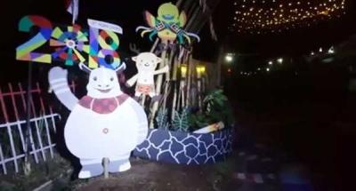 Keren, Gapura Warga Padalarang Juara Gapura Asian Games