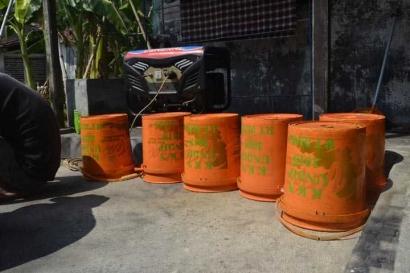 Melawan Sampah bersama Warga Desa Nolokerto