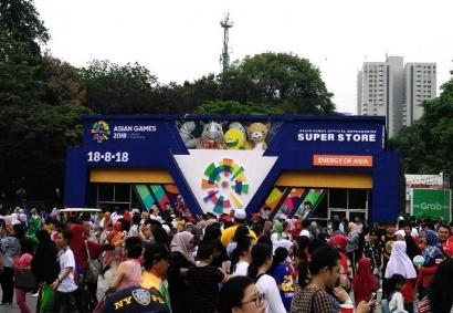 """Saat """"Asian Fest"""" Diserbu Lautan Manusia"""