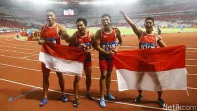 Senangnya, Bisa Melihat Zohri Bertanding Langsung di Stadion Utama Senayan