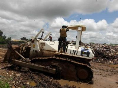 Satuan Tugas Kizi  Kontingen Garuda XXXVII E di Republik Afrika Tengah