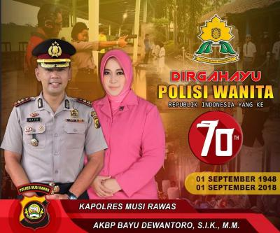 Dirgahayu ke-70 Polisi Wanita