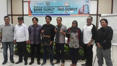 IWO Medan Sabet Semua Penghargaan Perserta Terbaik Pelatihan Jurnalistik Perbankan