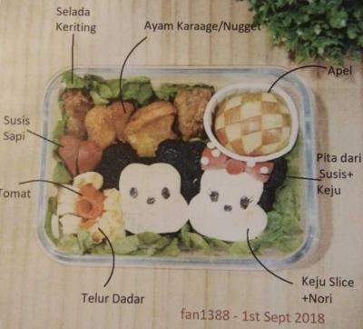 Belajar Membuat Bento, Saatnya Dapat Lebih untuk Cinta Keluarga