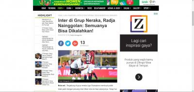 Melihat bola.net dari Karakteristik Media Baru