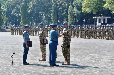Prajurit TNI  Berhasil Emban Tugas Negara yang Dipercayakan Dunia