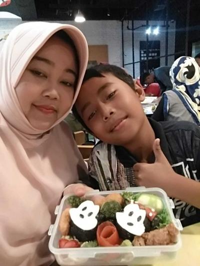 Kreasi Bento bersama Ibu