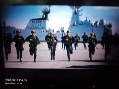 Ketika Militer China Unjuk Kekuatan
