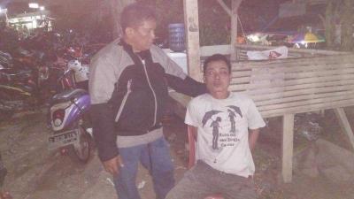 Menantang Warga, Supir Bajaj Mabuk dan Ugal-ugalan Diamankan Babinsa Koramil 03/GP