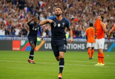 Gol Bersejarah Olivier Giroud di Ajang UEFA Nations League