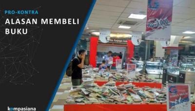 [Pro-Kontra] Apa Alasanmu Membeli Buku?