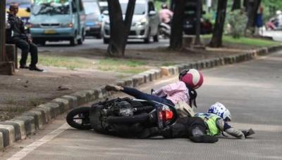 Kecelakaan Akibat Kabur dari Razia Polisi