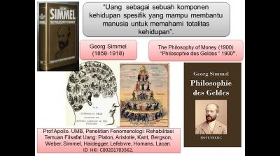 Filsafat Uang Simmel dan Pelemahan Nilai Tukar Rupiah
