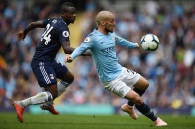 Manchester City Vs Fulham, Gol Ke-50 Silva Warnai Kemenangan City