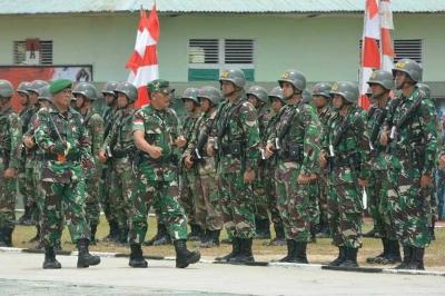 Pangdam Tanjungpura Menutup Peleton Tangkas Periode III