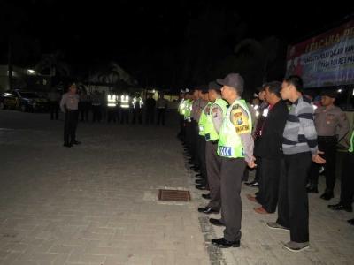 Kapolres Pacitan Pimpin Pengamanan PSHT