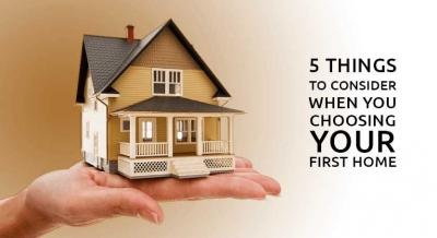 5 Tips Penting Memilih Rumah Pertama Anda