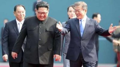 Jalan Berliku Pertemuan Kim Jong Un dan Moon Jae In