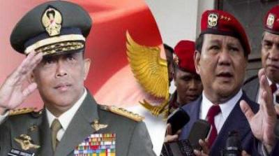 Ketua Tim Pemenangan dan Kuatnya Citra Militeristik Kubu Prabowo