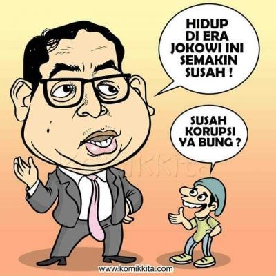 Humor | Jokowi Bikin Susah