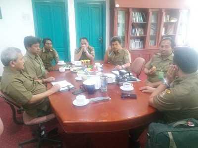 Rapat Bersama Kapus P3E Suma, Bahas Karhutla di Sulawesi Tenggara