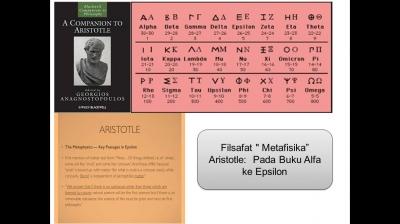 Filsafat Metafisika Aristotle Pada Buku Alfa ke Epsilon